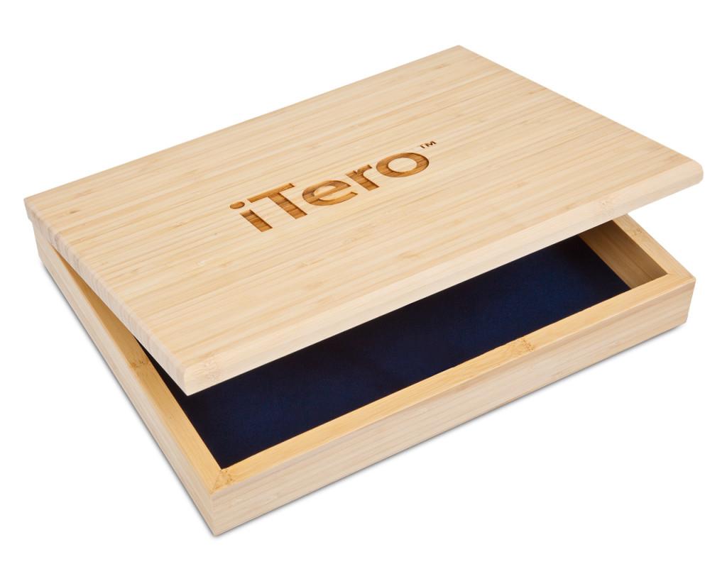 Custom Bamboo Gift Box (natural)