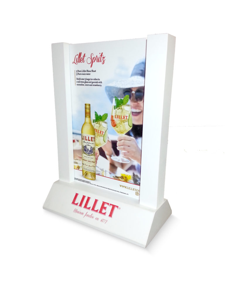 NEW SOLID WOOD TABLE TENTS - Table tent printing