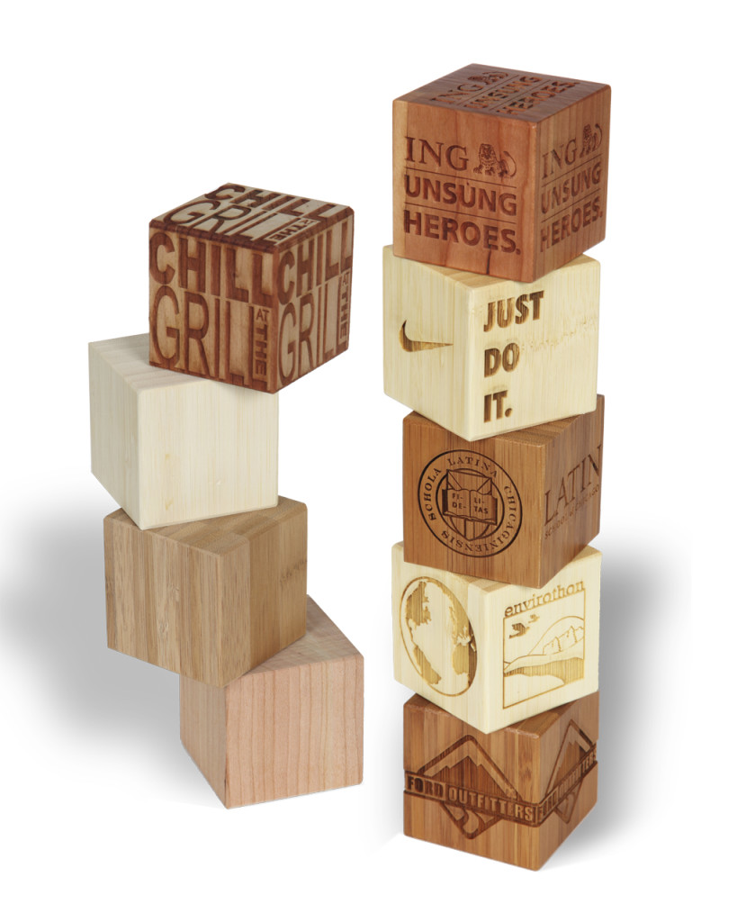 Solid Wood Paperweights