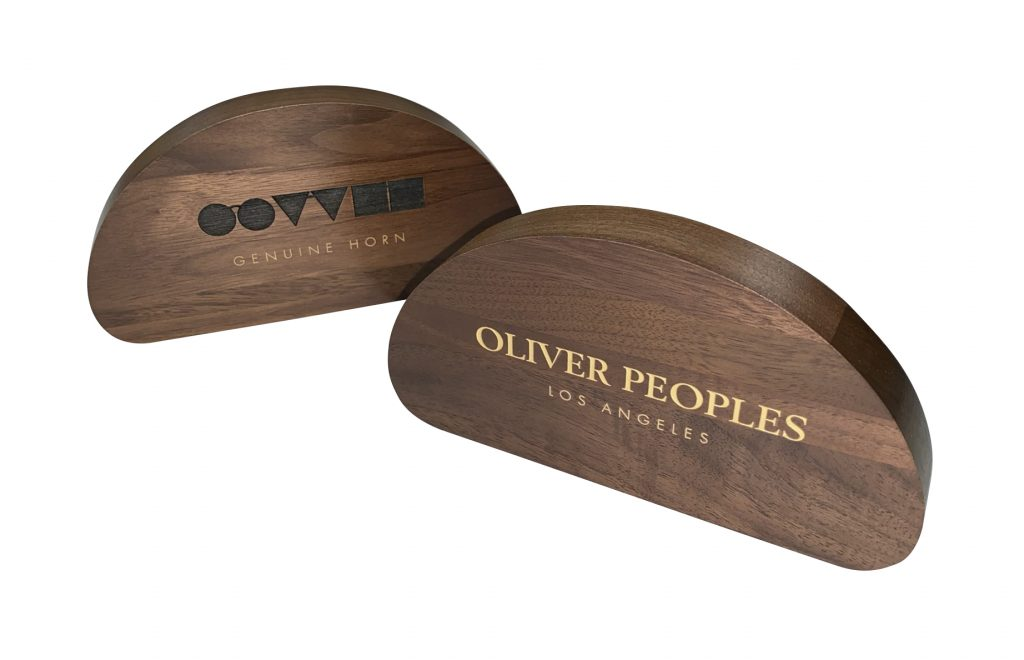 Solid Walnut Signage with EngravingColor Fill