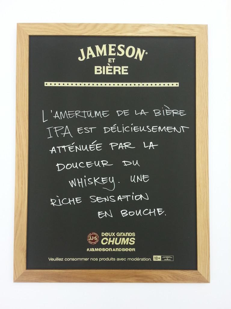 Jameson Chalkbaord Frame