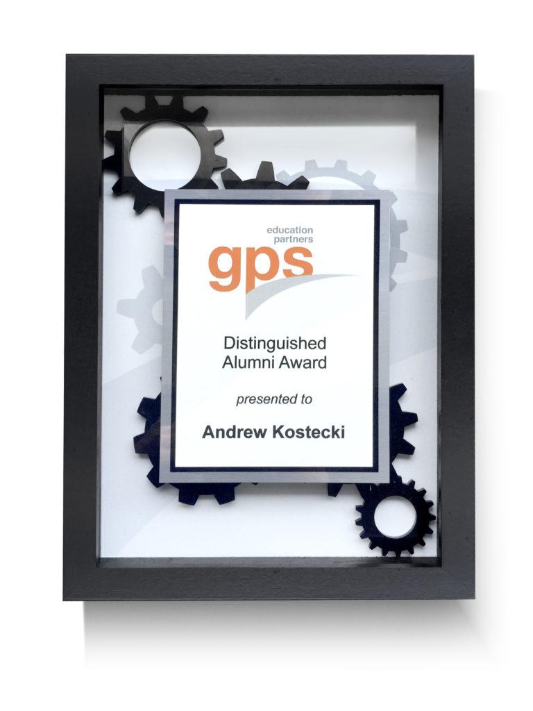 GPS Award Frame
