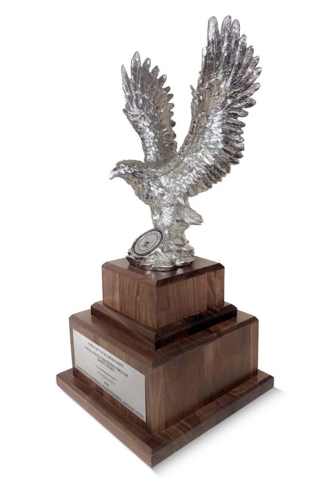 Custom Walnut Trophy Base