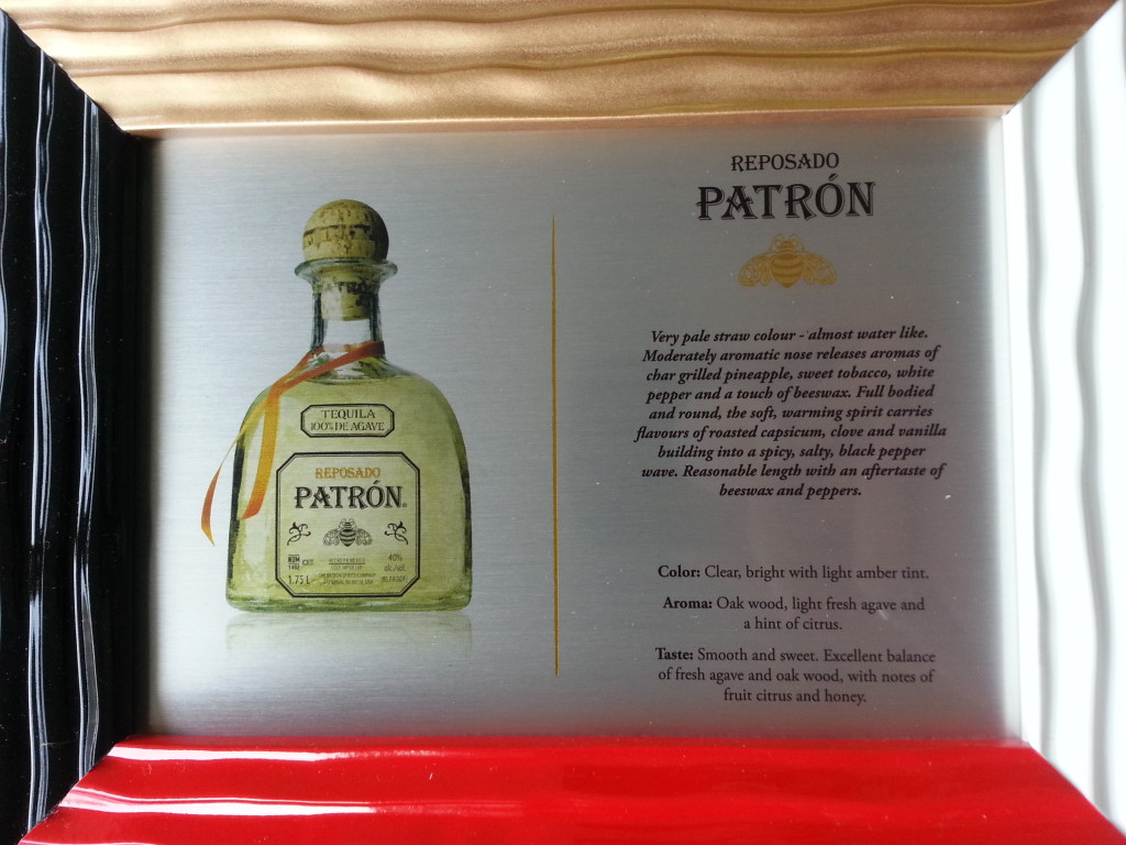 Custom Patron Frame
