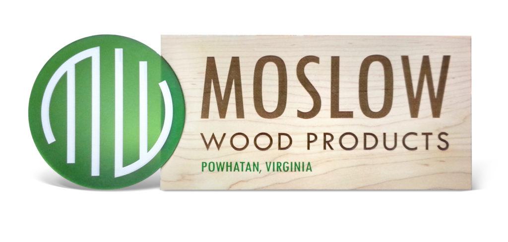 Custom Wood and Printed Acrylic Signage