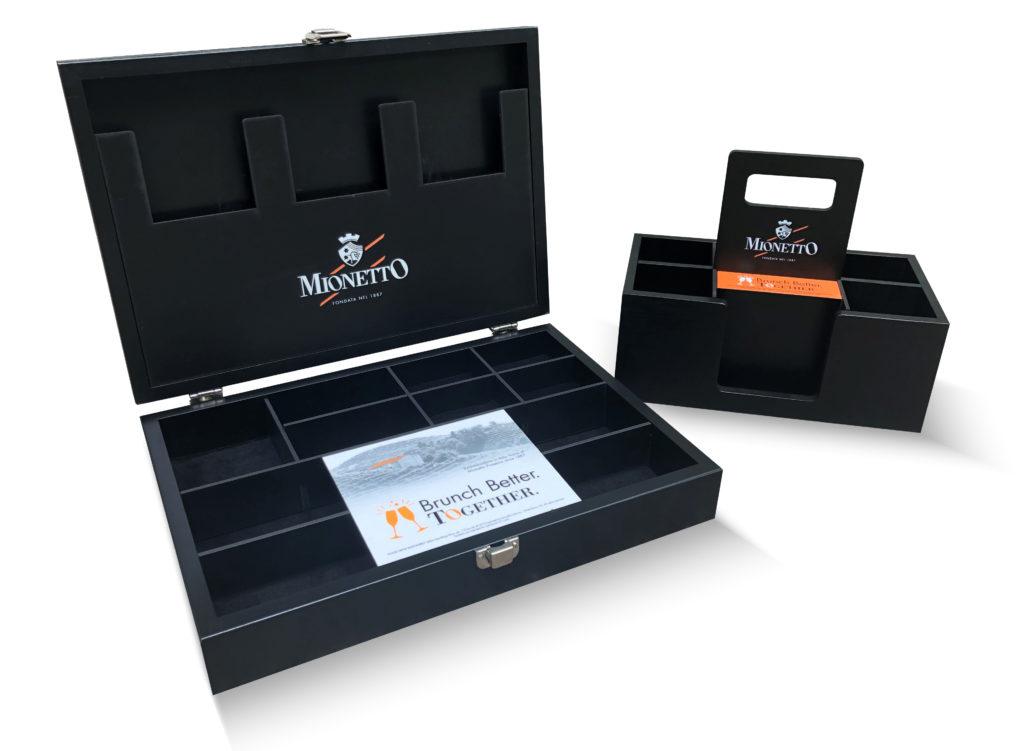 Custom Hardwood Box With Full Color UV Printing & Graphic Film