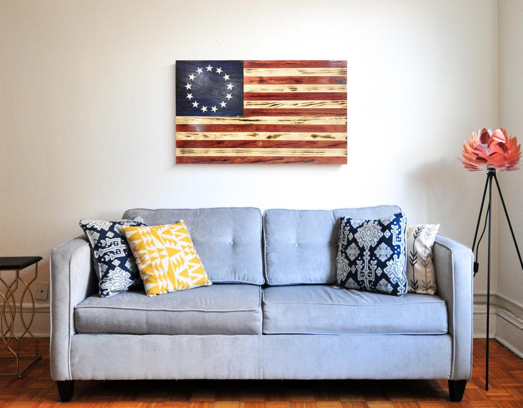 Betty Ross Flag Art (Large)