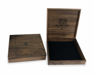 Solid Walnut & Bamboo Boxes
