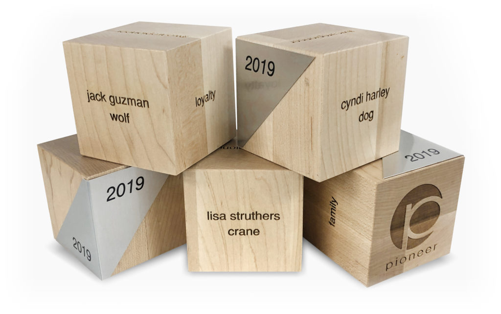 Solid Maple Blocks with Sublimated Plates & Engraving