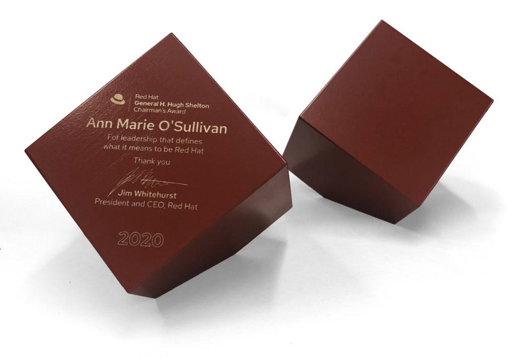 Custom block award