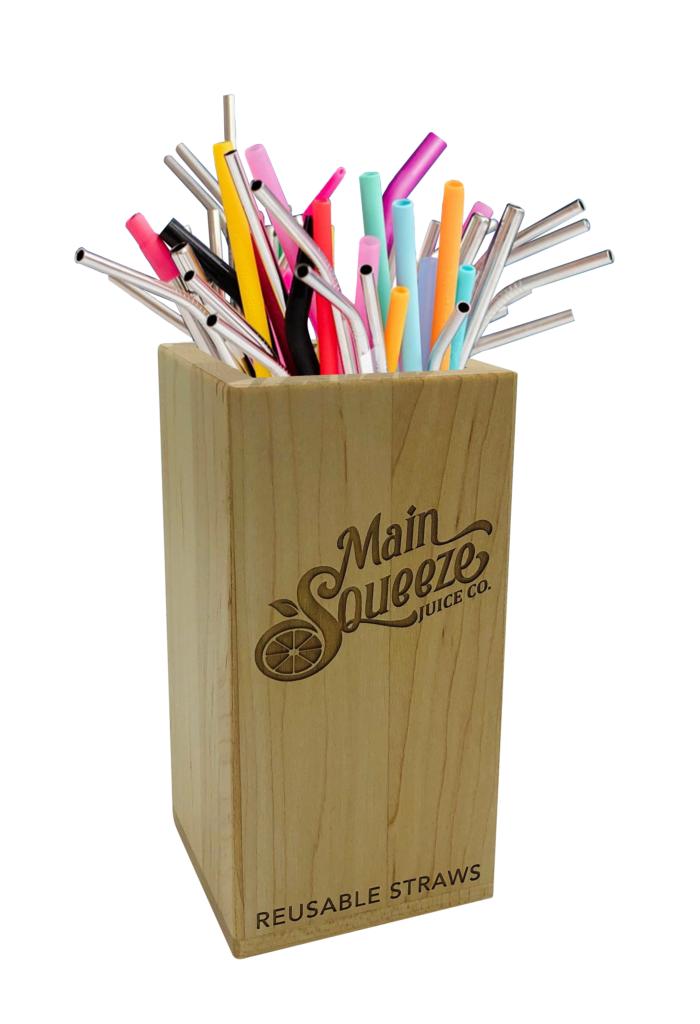 Custom Straw Holder